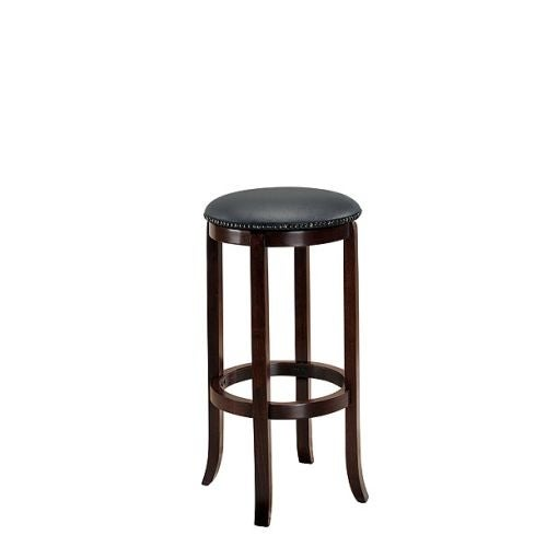 "American Heritage Billiards Princess Bar Stool Princess 30"" Tall Wood Frame Bar Stool"