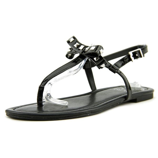 Vince Camuto Mertella2 Women Open Toe Synthetic Black Sandals