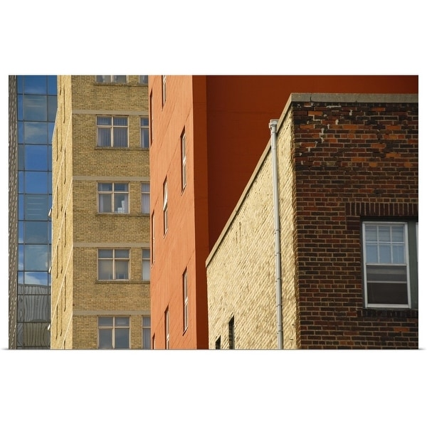Poster Print Enled Downtown Apartment Buildings Winnipeg Manitoba Canada Multi Color Free Shipping On Orders Over 45 21002198