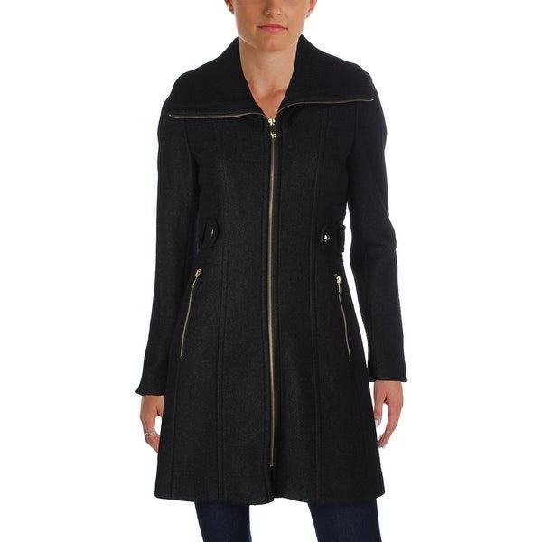 Shop Via Spiga Womens Car Coat Winter Wool Blend Free