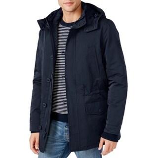 Tommy Hilfiger NEW Midnight Blue Mens Size Large L Windbreaker Jacket
