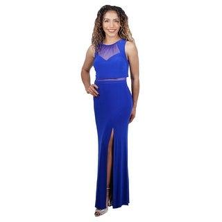Jersey Gown Sheer Waist