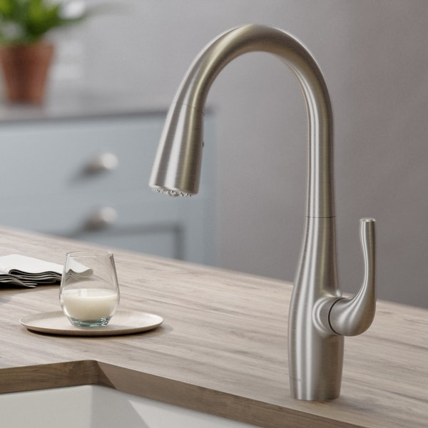 Kraus KPF-1670 Esina 2-Function 1-Handle Pulldown Kitchen Faucet. Opens flyout.