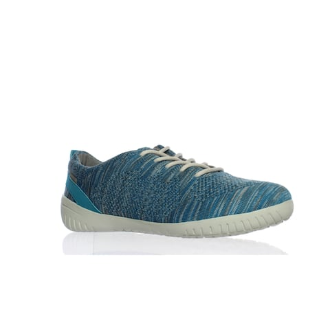 Rockport Womens Raelyn Teal Heather Fashion Sneaker Size 9.5
