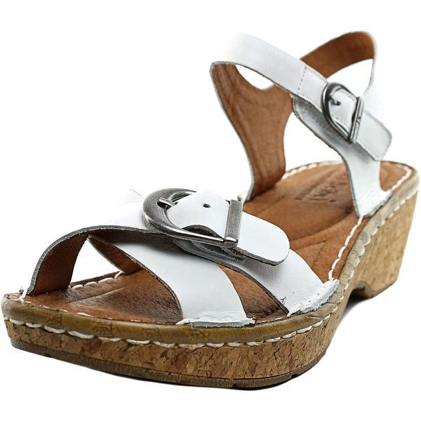 Josef Seibel Kira 09 Open-Toe Leather Slingback Sandal