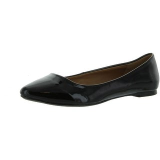 City Classified Women's Sadler Pointy Toe Flat