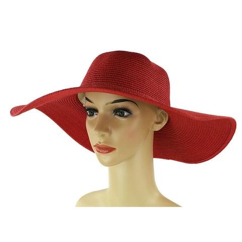 de9eb918 Buy Red, Sun Hat Women's Hats Online at Overstock | Our Best Hats Deals
