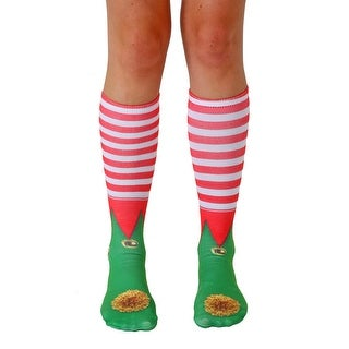 Unisex Elf Shoes Knee High Socks