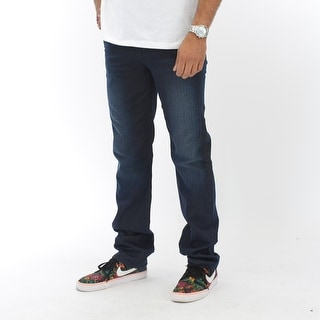 Classic Fit Jeans In Mort - Blue