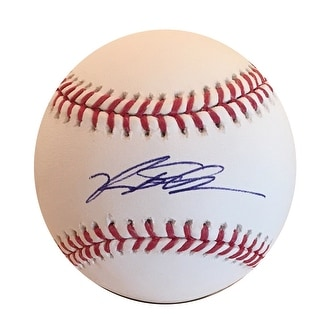 Kyle Schwarber Autographed MLB Authentic Signed Baseball Beckett BAS COA 2