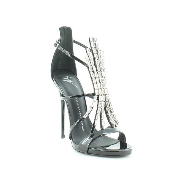 Giuseppe Zanotti Alien 115 Pl Wonder Women's Heels Nero Tomaia - 5