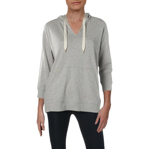 Lauren Ralph Lauren Womens Abner Hoodie Knit Pullover - M
