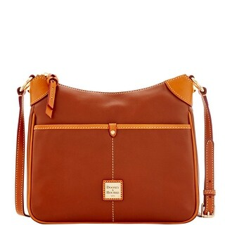 Dooney & Bourke Calf Kimberly Crossbody (Introduced by Dooney & Bourke at $198 in Sep 2016) - Natural