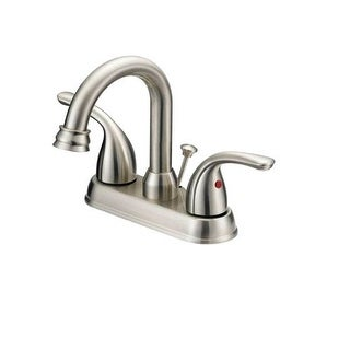 OakBrook F5111080CP-ACA1 Coastal 2 Handle Lavatory Faucet, Chrome Nickel