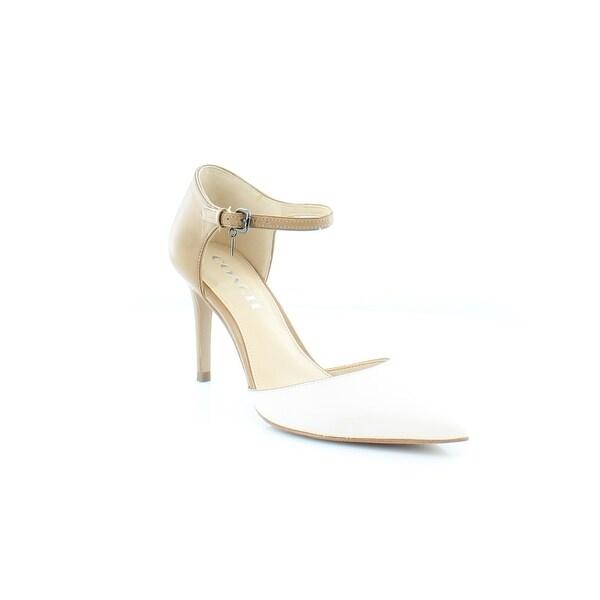 Coach Seline Women's Heels Chalk/Walnut - 6