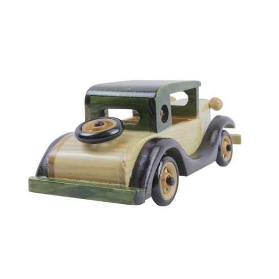 Cadillac Wood Model Car - 10.0 in. x 4.0 in. x 4.0 in.