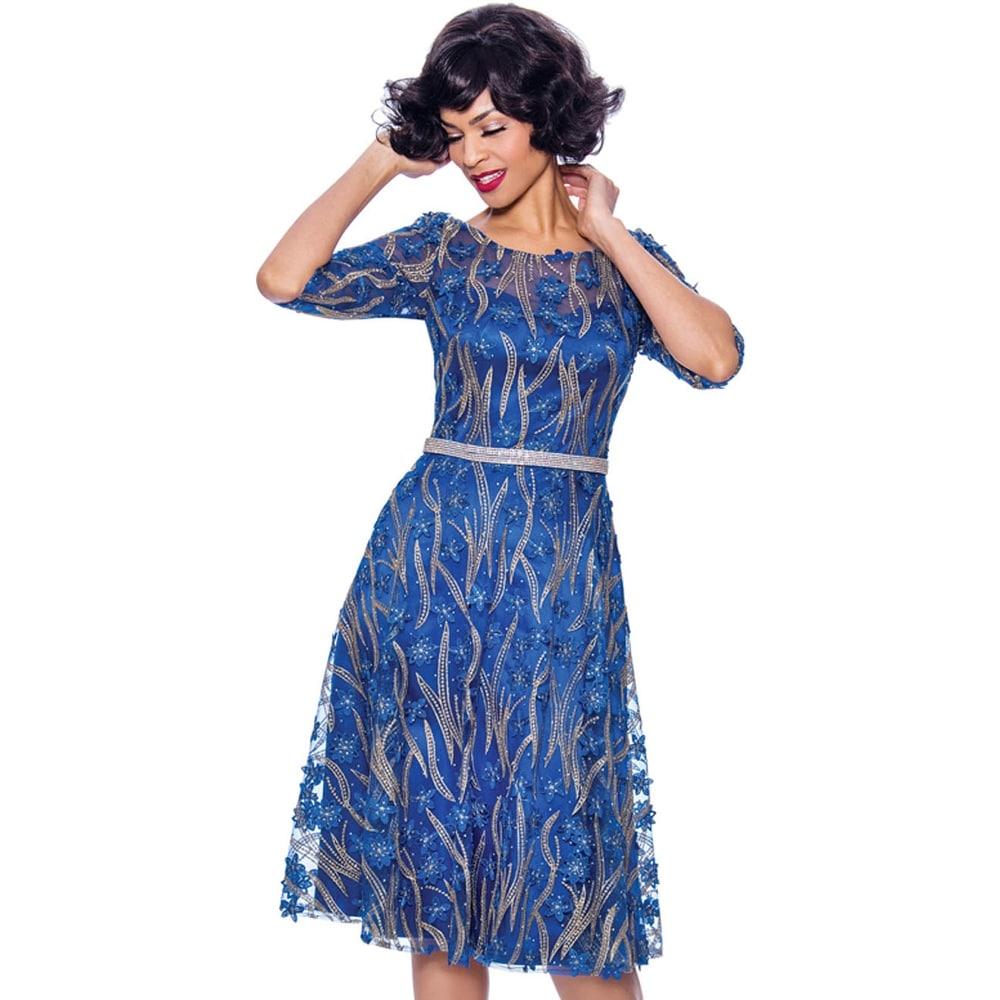 Annabelle Womens Formal Flare Dress