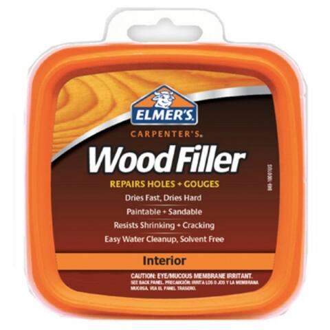 Elmer's E847D12 Carpenter's General Purpose Indoor Wood Filler, 1/4 Pt
