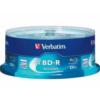 Verbatim DM4839M Verbatim 25 GB 6x Blu-ray Single Layer Recordable Disc BD-R 25-Disc Spindle