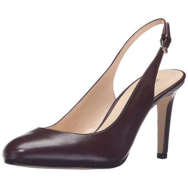 Nine West Women's Holiday Leather Dress Pump - 5.5