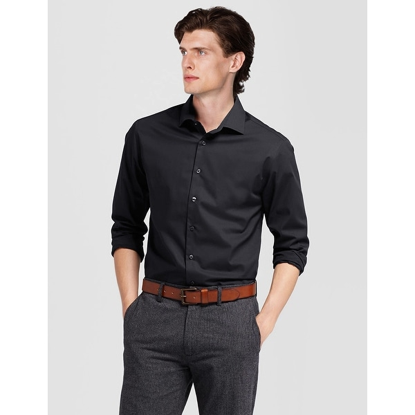 Men's Regular/Classic Fit Dress Shirts Long Sleeve Dress Shirt for Men. Opens flyout.