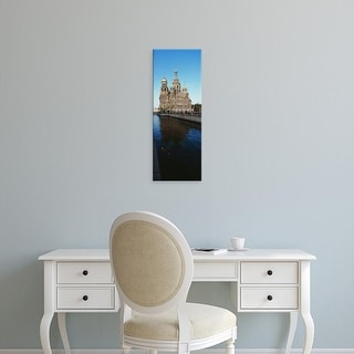 Easy Art Prints Panoramic Image 'Church of Resurrection of Christ, Griboyedov Canal, St. Petersburg, Russia' Canvas Art