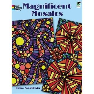 Dover Publications-Magnificent Mosaics Coloring Book