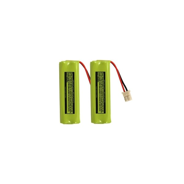 Replacement For VTech BT283482 Cordless Phone Battery (500mAh, 2.4v, NiMH) - 2 Pack