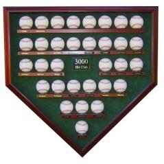 3000 Hit Club 32 Baseballs Custom Display Case UV Glass