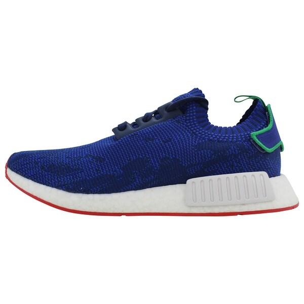 Adidas NMD R1 PK Blue/Green-White Rue Des Rosiers Paris ...