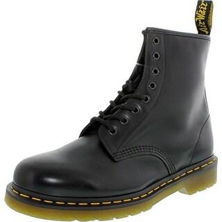 Dr. Martens Mens 1460 Classic 8 Eye Boot, Black - 9