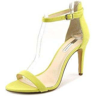 INC International Concepts Roriee Women  Open Toe Suede Yellow Sandals