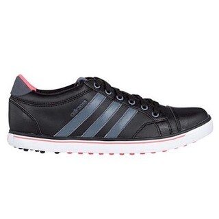 Adidas Women's Adicross IV Black/Onix/Flash Red Golf Shoes Q47025