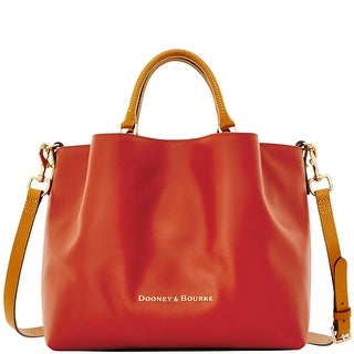 Dooney & Bourke City Large Barlow (Introduced by Dooney & Bourke at $368 in Sep 2016) - Persimmon
