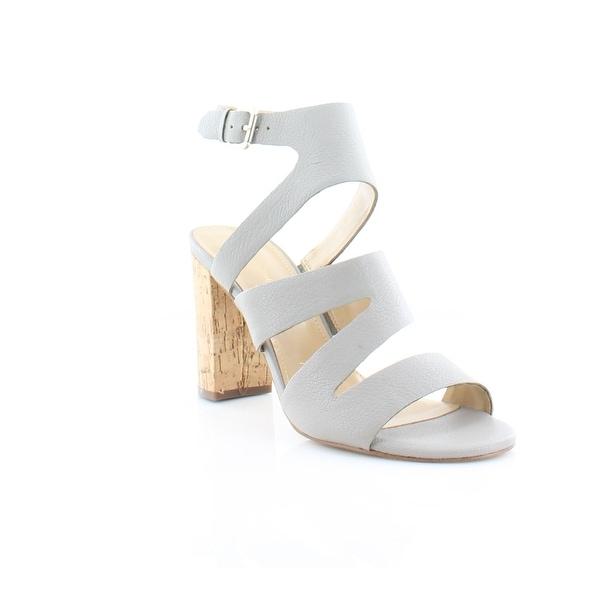 Marc Fisher Paxtin Women's Sandals & Flip Flops Light gray - 8.5