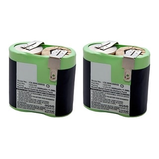 Replacement Battery for Black & Decker BHC400VX (2-Pack) Replacement Battery