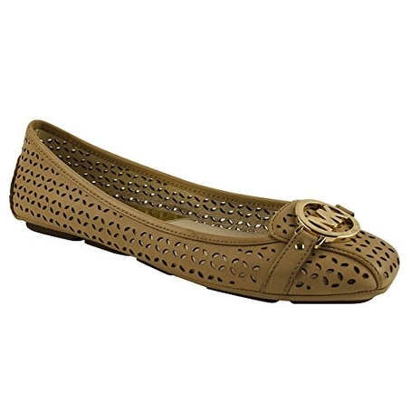 MICHAEL Michael Kors Womens Fulton Moccasin Leather Closed Toe Casual Slide S...