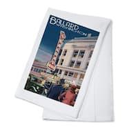 Bagdad Theatre - Ballard, Seattle, WA - LP Artwork (100% Cotton Towel Absorbent)