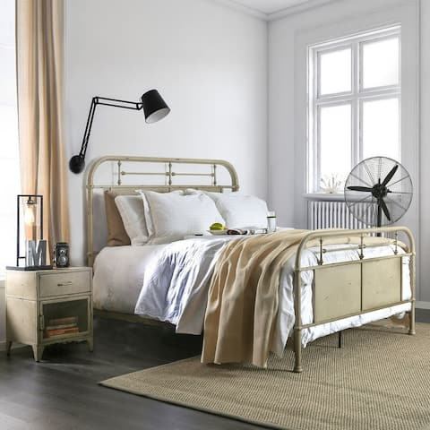 Furniture of America Ways Industrial Metal Unisex Youth Bed