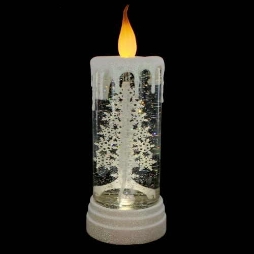 LED Pillar Tree Candle