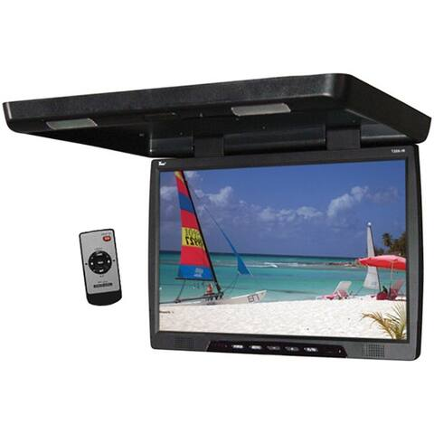 Tview t206ir tview monitor 20 black flipdown tft widescreen