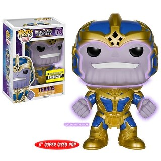 "FunKo POP! Guardians of the Galaxy Thanos Glow in the Dark 6"" Vinyl Figure - Multi"