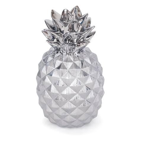 Priscella Ceramic Pineapple - 8 x 8 x 15