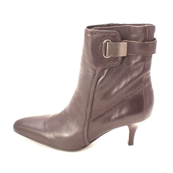 Enzo Angiolini Womens ENZO Pointed Toe Ankle Fashion Boots - 6