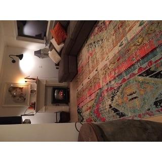 Safavieh Monaco Vintage Bohemian Multi-colored Distressed Rug (8' x 11')