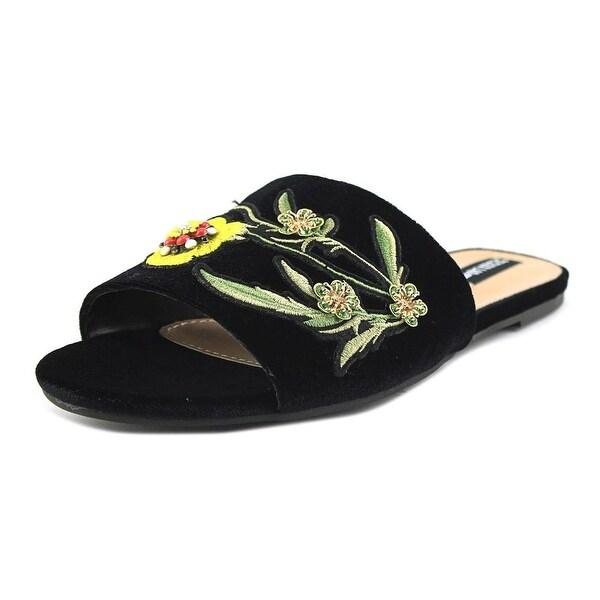 Design Lab Lord & Taylor Fleur Black Mult Sandals