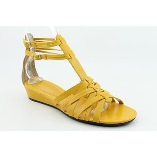 Enzo Angiolini Womens Norte Open Toe Casual Platform Sandals