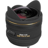 Sigma 10mm f/2.8 EX DC HSM Fisheye Lens for Pentax Digital Camera (International Model) - Black