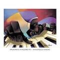 ''Frankie Fingertips'' by Maurice Evans Jazz Art Print (26 x 32 in.) - Thumbnail 0