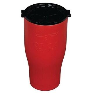 Orca ORCCHA27RE/BLK Drinkware Vacuum Mug, Red/Black, 27 OZ